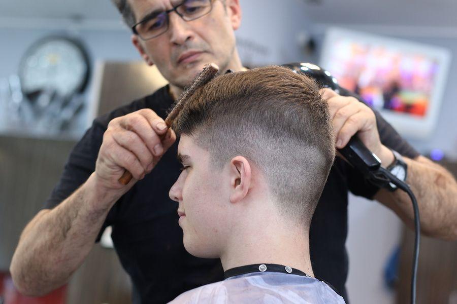 Fryzjer mężczyzna