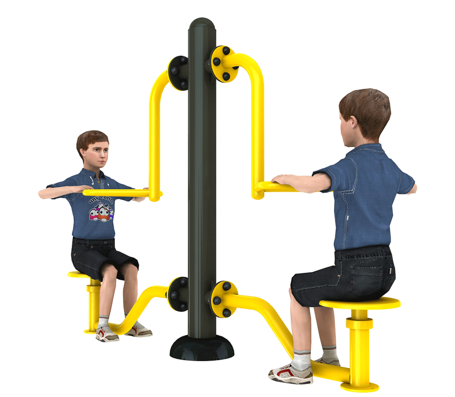 Urządzenia siłowni zewnętrznych dla dzieci